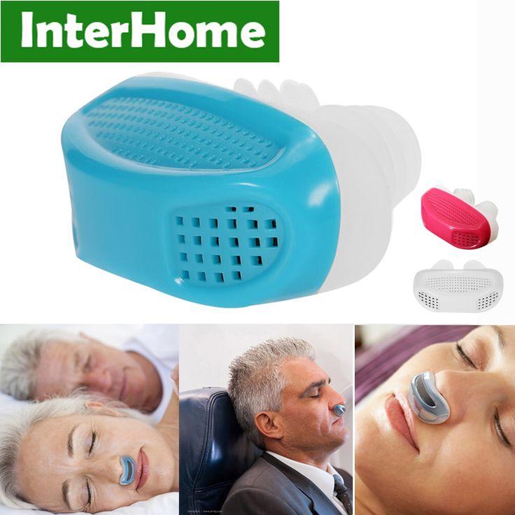 Patent PM2.5 CPAP Stop Snoring Sleeping Anti Snore Apnea Ventilation Nose Breath Apparatus Nasal Congestion Clean Air Purifier