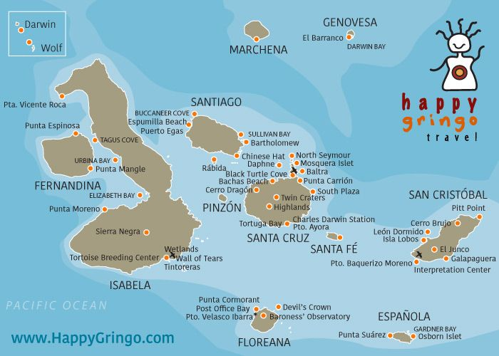 The Best Ecuador Map Ideas On Pinterest - Map where is the galapagos islands relative to the us