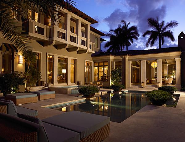 Marc michaels interior design inc private residence 1 for Pool design boca raton