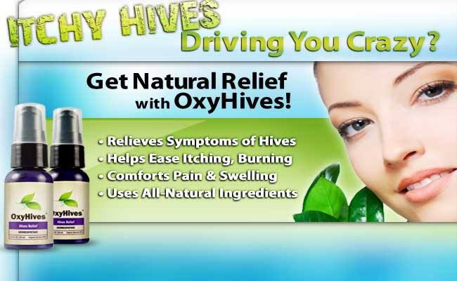 Oxyhives Was Developed By Homeopathy Experts To Help Relieve