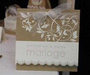 les 25 meilleures id es concernant invitations de mariage faites la main su. Black Bedroom Furniture Sets. Home Design Ideas