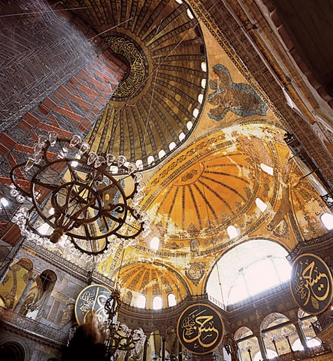 I have never forgotten my visit to the Aghia Sophia in Istanbul. This photograph is the most beautiful I have seen.