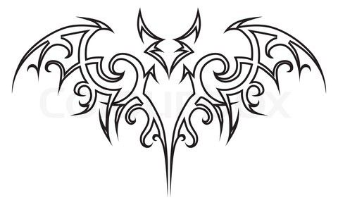 very popular design tattoos: fashionable simple tribal tattoo designs