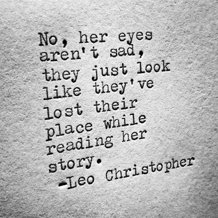 Not Sad But Lost • Leo Christopher • My Book