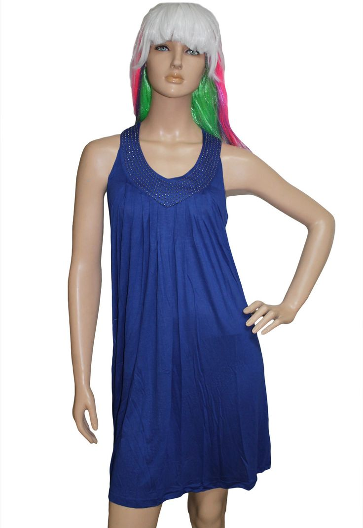 Prix: €14.41 Cover Ups & Beach Robes Bebe Bleu Cloute Soutien Gorge Top Robe Pas Cher www.modebuy.com @Modebuy #Modebuy #CommeMontre #Bleu #me #f4f