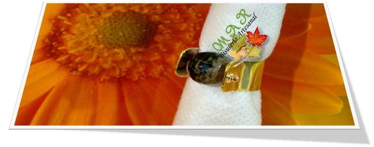 Anillo en cobre para Baño Electrolitico  Elaborado por la Artesana Diseñadora Milady Arévalo