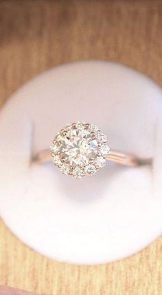 The Lotus Flower Diamond Ring