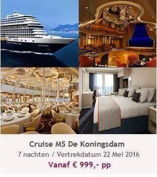 Cruisen is geweldig! Maar laat u goed informeren, er komt veel bij kijken. Wilt u meer weten over deze aanbieding of cruisen, neem dan contact op: patricia@travelcounsellors.nl www.travelcounsellors.nl/patricia