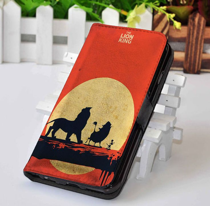 The Lion King | Disney | Custom wallet case for iphone 4,4s,5,5s,5c,6,7 and samsung galaxy s3,s4,s5,s6 - LSNCONECALL.COM
