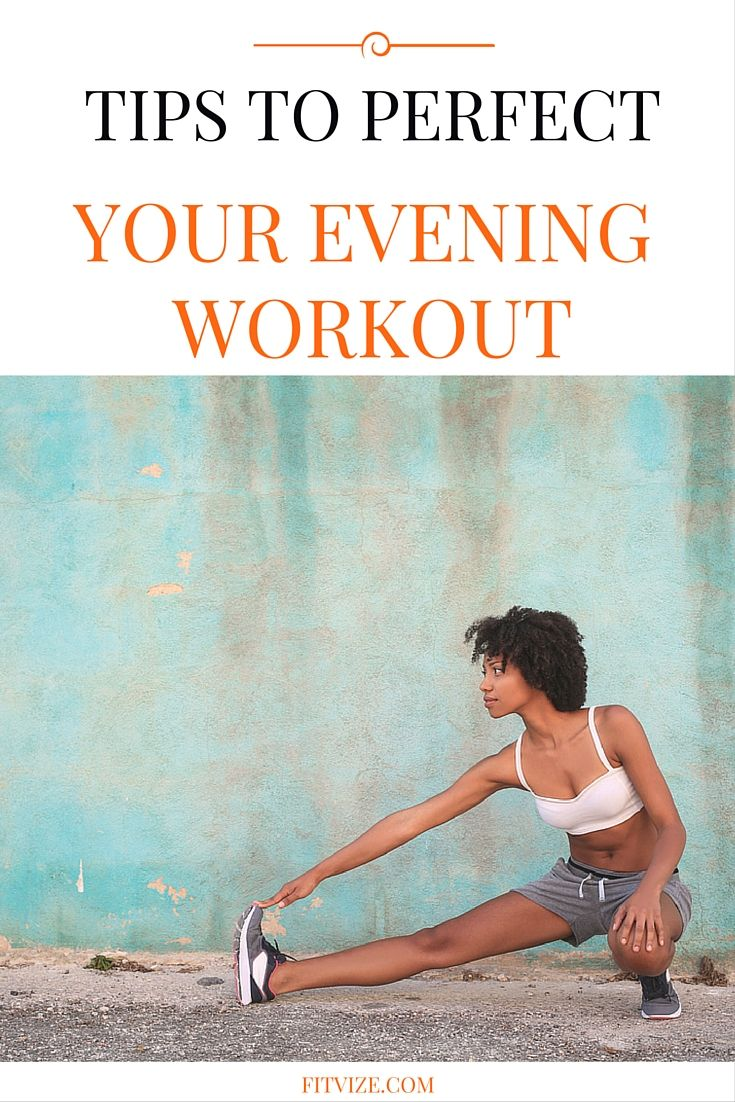 What is the best time of day to exercise? Is a morning workout better than an evening workout? What exercises can ease sleep transition? And – always interesting – where can you find motivation for an evening workout? Looking for sincere answers to all these questions? Well, look no further - you will find it all at https://fitvize.com/2016/06/30/heres-everything-you-need-to-know-about-evening-workouts/