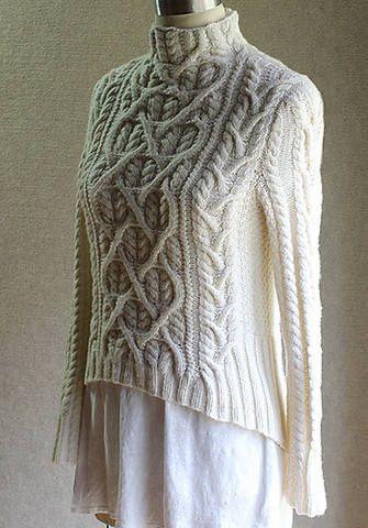 Влюбленный Шекспир - свитер спицами от Carol Sunday