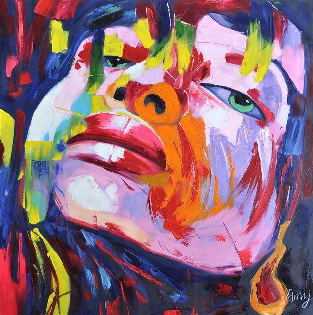Vaak 25+ beste ideeën over Paletmes schilderij op Pinterest - Texture  BN03