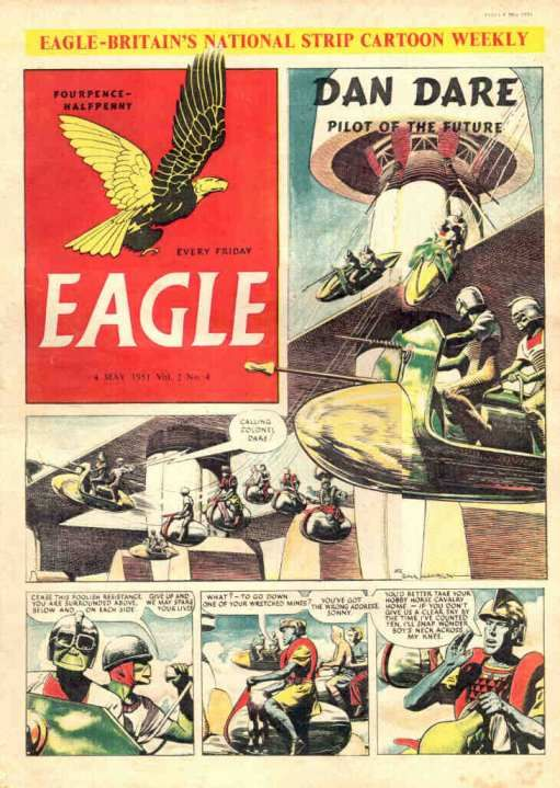 May 1951 The first new 'comic' since the war.