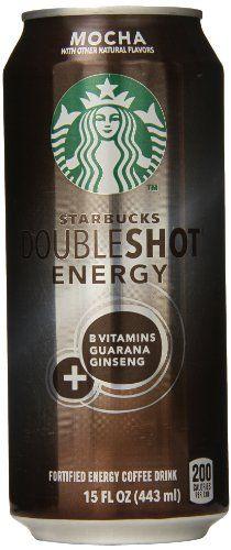 Starbucks Doubleshot Energy Coffee, Mocha, 15 Ounce Cans, 12 Pack - http://teacoffeestore.com/starbucks-doubleshot-energy-coffee-mocha-15-ounce-cans-12-pack/