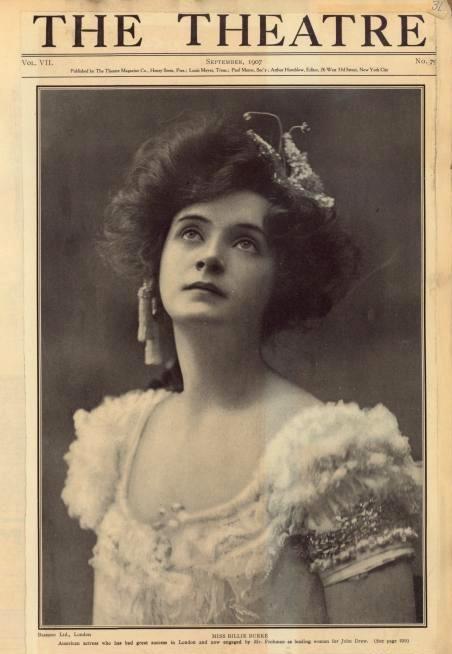 Billie Burke in 1907