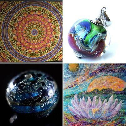 Пульсары мандалы вселенная
