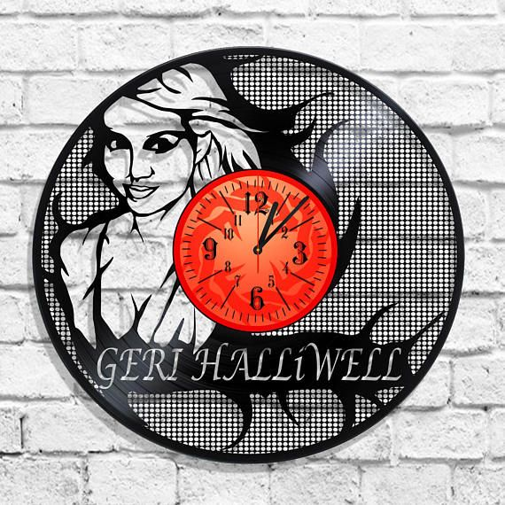 Geri Halliwell original clock on the wall Geri Halliwell