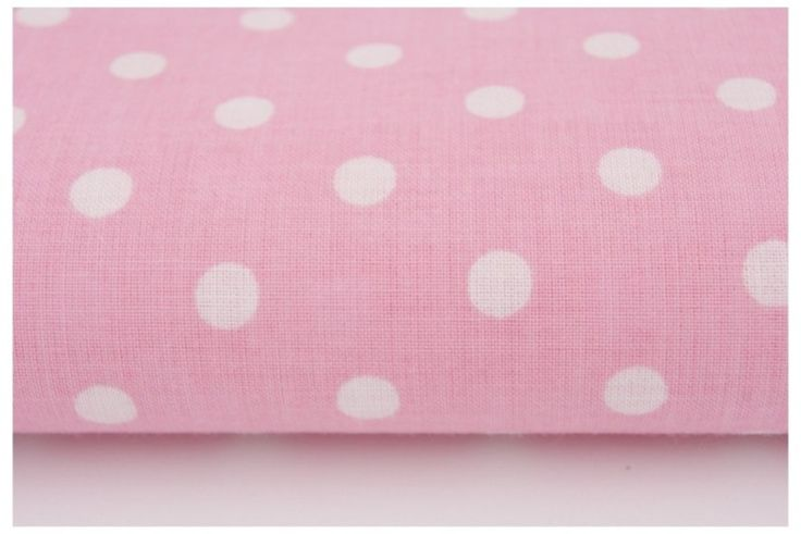13. Polka dots on light pink