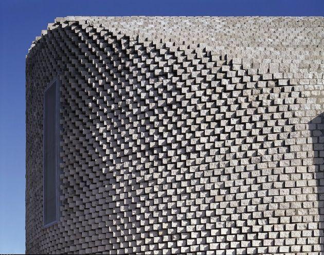 South Korea Pixel House With A Textured Facade (2)