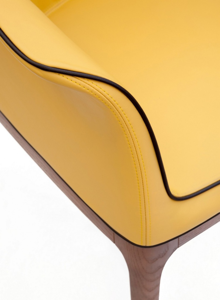 Furniture, Interior Design Interior Design Art Sofa Deluxe Yellow Sofa Lux Sofa Meubel Furniture Side View Sofa: Breathtaking Refinement & Relaxation: Upholstered MIVIDA Chairs by Angelo Tomaiuolo