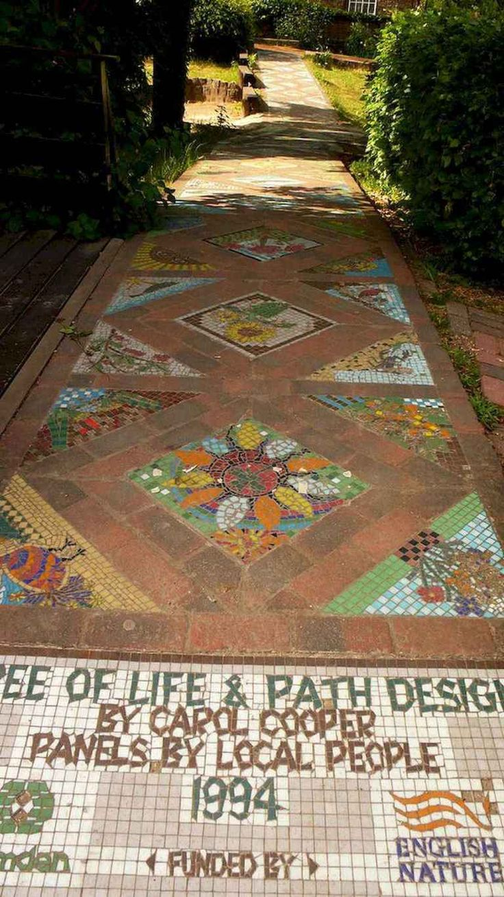01 magnificent diy mosaic garden path decorations for your on magnificent garden walkways ideas for unique outdoor setting id=77493
