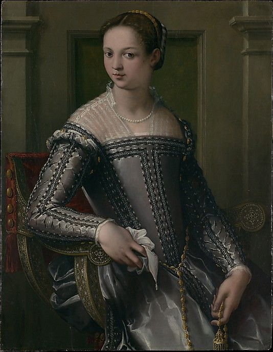 Portrait of a Woman, mid-16th century, Italian, unknown artist possibly Francesco Salviati (1510-1563) or Michele di Ridolfo Tosini (1503-1577), Metropolitan Museum of Art, The Friedsam Collection, Bequest of Michael Friedsam (32.100.66)