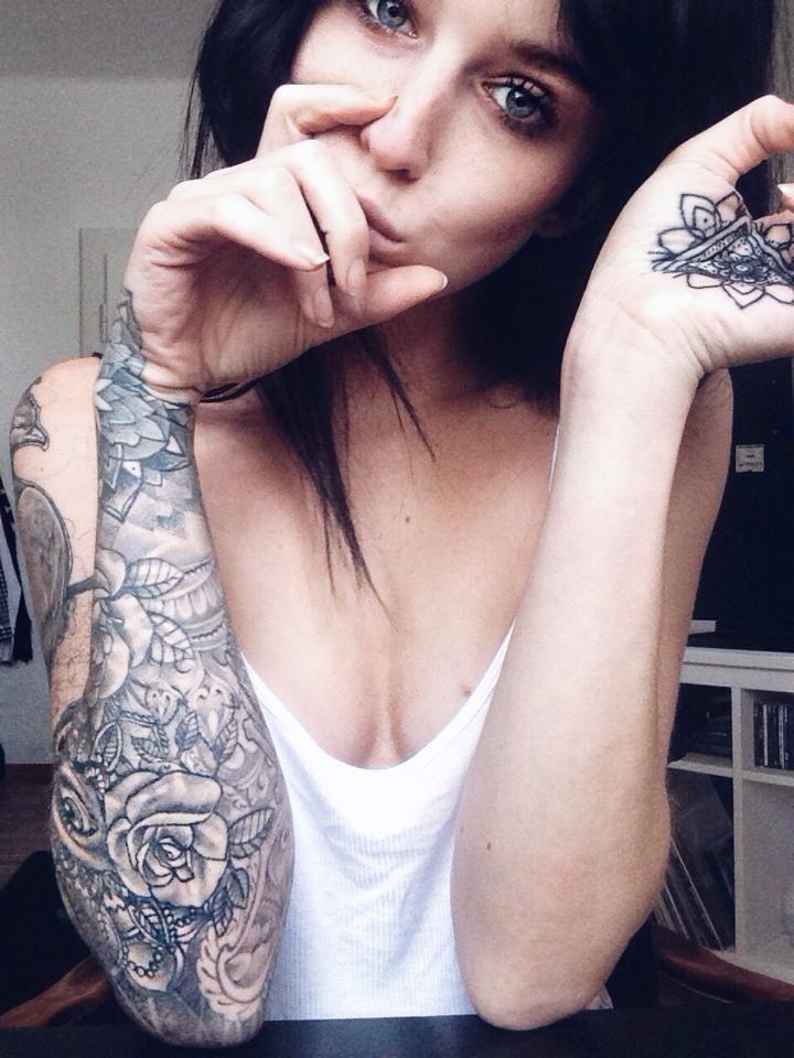 Tatuajes Brazo Entero Mujer Excellent Tatuaje Brazo Completo Mujer