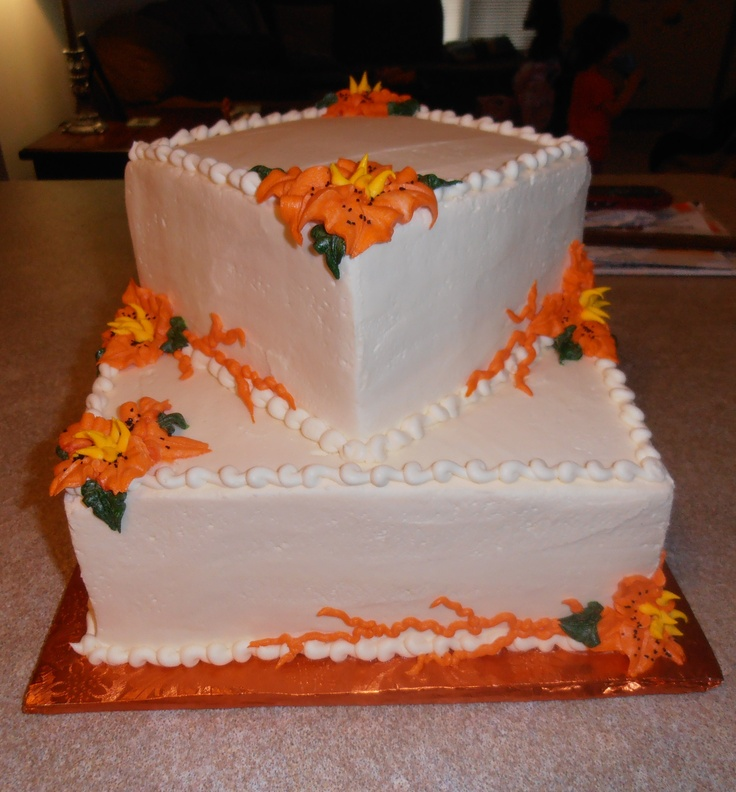 wedding cake with tiger lilies 21 best gerbera flowers images on gerbera 26974