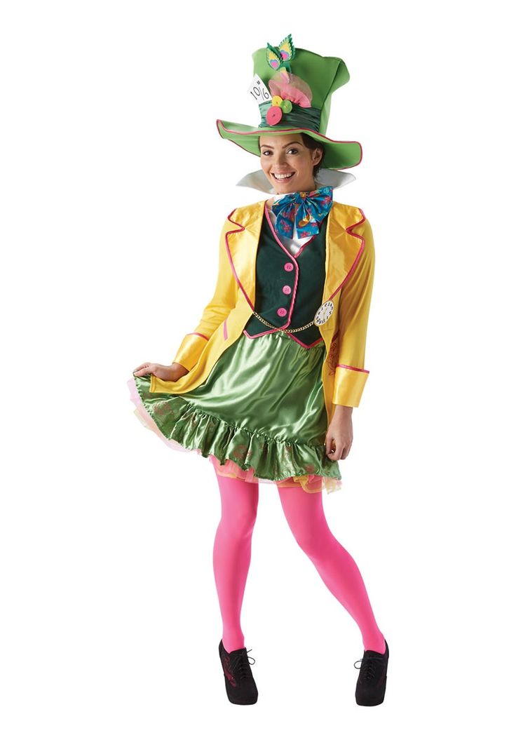 The Mad Hatter Ladies Fancy Dress Costume Halloween - Halloween Costumes at Escapade™ UK