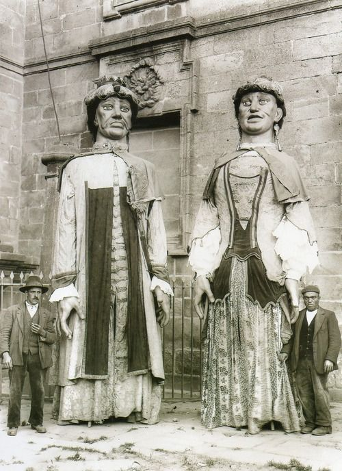 ∞ Xigantes en #SantiagoDeCompostela (1920) #Spain