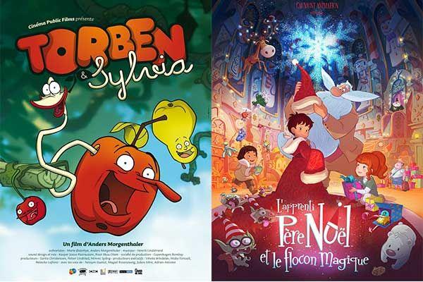 """> Nouvel article Publié dans la rubrique """"CINEMA/VIDEOS"""" sur www.enfant.net  - Nouveaux films sortis cette semaine:Torben et Sylvia ; L'Apprenti Père Noël et le flocon magique"""
