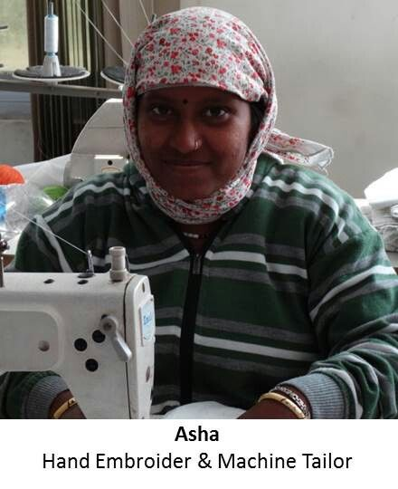 Meet smiley, radiant Asha who is the lynchpin in my hand embroidery bed linen team, often training the newer ladies in various needle work skills... http://organicbedthreads.com/ewhispers/item/meet-our