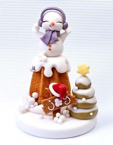 Amazing winter cake tutorial at My Cake Design