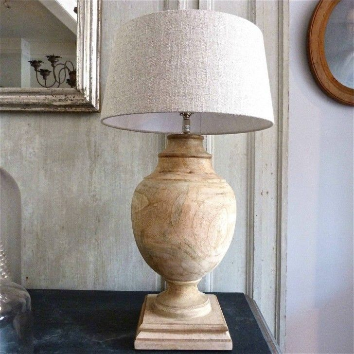 Image result for natural wood table lamp