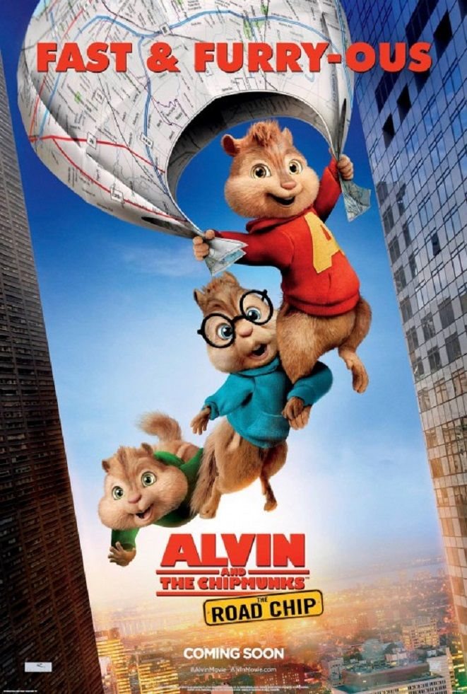 Alvin And The Chipmunks The Road Chip Alvin E Os Esquilos A
