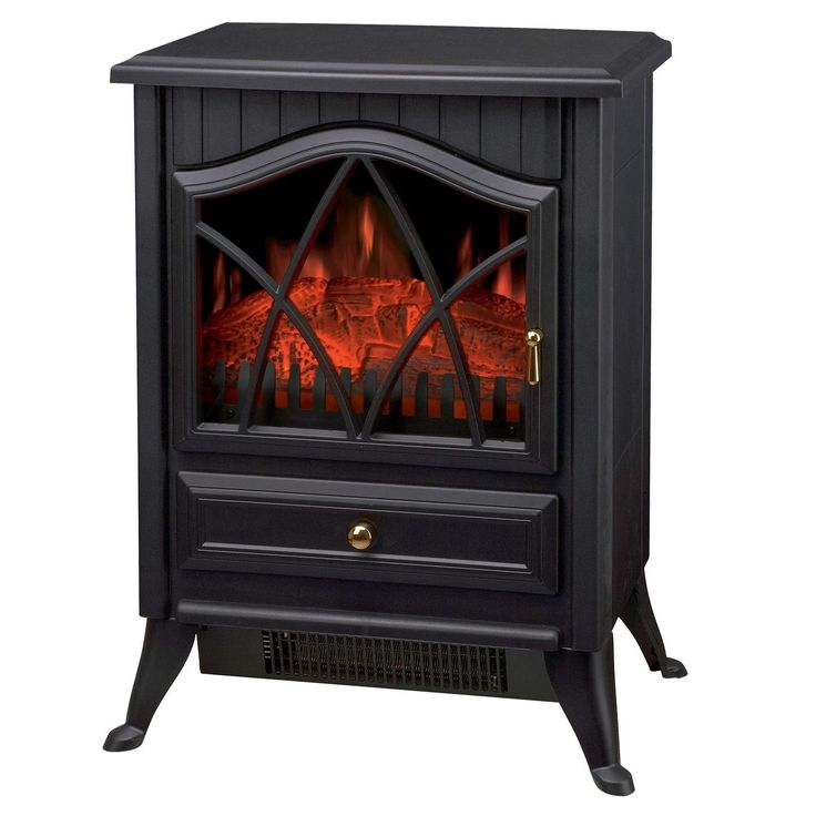 Sentik 1850w Log Burning Flame Effect Electric Stove Heater Fire Fireplace: Amazon.co.uk: Kitchen & Home