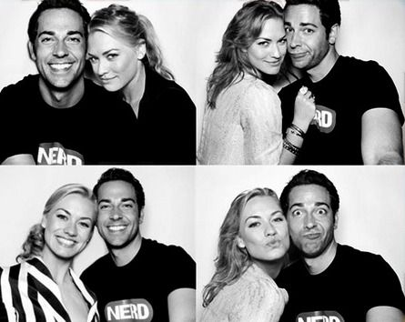 """I will always remember them as Chuck and Sarah from """"Chuck"""". One of the best tv shows ever!"""