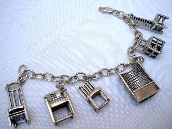 Charles Rennie Mackintosh Chair Charm Bracelet from the Met Museum