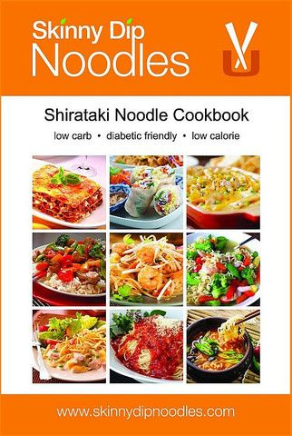 Skinny Dip Noodles Pasta Cookbook