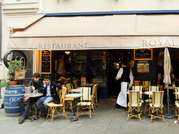 Royal Turenne, Le Marais. Best place to start your day off in Paris