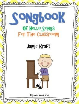 Every class should start out with a HELLO song to get the day started. Here is s FREEBIE of 10 songs that an teacher can use to say Hello and Good Morning!Songs Included in this booklet: Hello, How Are You? Sung to the tune Skip To My Lou  Hi, My Friends: Sung to the tune Row, Row, Row Your Boat  Hello To All My Friends: Sung to the tune Head, Shoulders, Knees, and Toes  Hello Everyone: Sung to the tune Baa-Baa Black Sheep  Good Morning: Sung to the tune Shoo Fly  Good Morning: Sung to the…