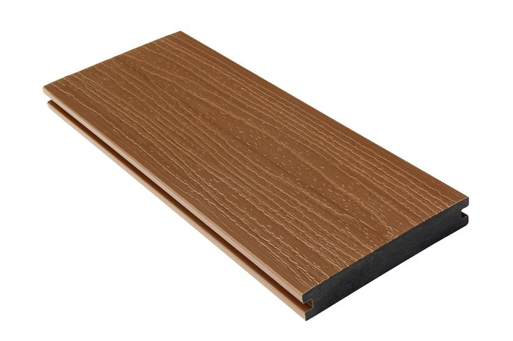 New design co-extruded decking shielded WPC floor #Co-extrudedfloor  #Co-extrudedflooring  #Co-extrudeddecking