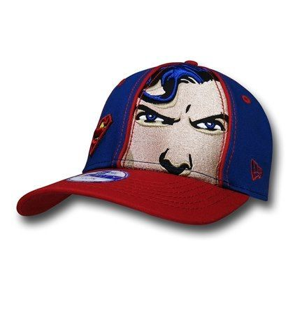 Superman Face Youth Cap