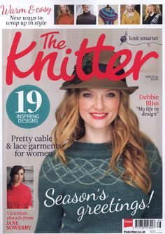 The knitter 66 Tumbling shells victorian shawl