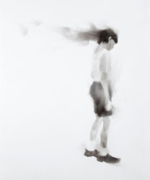 Sofie Muller — Brandt smoke drawing
