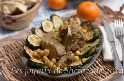 Haşlanmış kabak / Cezayir mutfağı