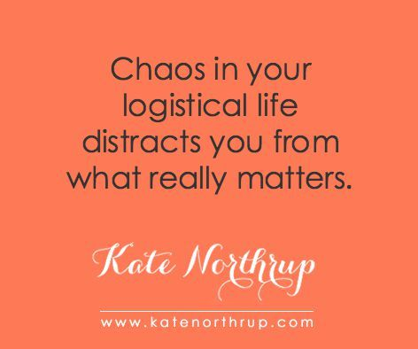 Learning to Love Logistics and the Freedom of Getting Your Shit Together   Kate Northrup