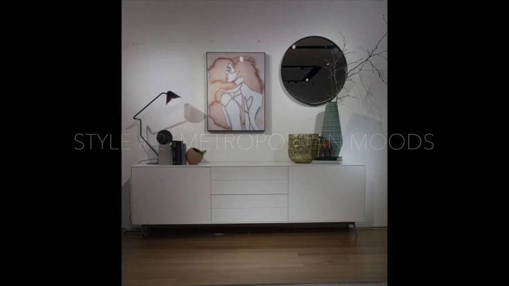 Fermo Sideboard - Interior styling by BoConcept Sydney