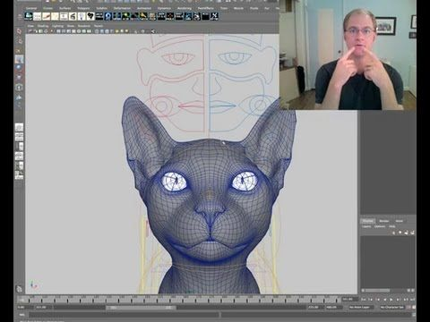 CGI 3D Tutorial : Animating Believable Animal Characters in a Live Action Feature - YouTube