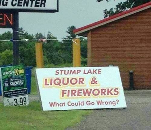 """As comedian Bill Engvall might say, """"Here's your sign."""""""